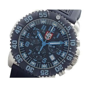 ルミノックス LUMINOX クロノグラフ 腕時計 3183CR ブラック&ブルー|rcmdse