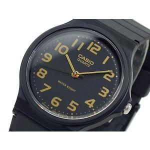 カシオ CASIO クオーツ 腕時計 MQ24-1BL ブラック|rcmdse