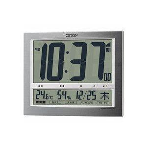 シチズン パルデジットワイド140 電波デジタル置き時計 8RZ140-019|rcmdse