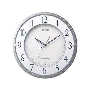 シチズン スリーウェイブM823 電波掛け時計 4MY823-003|rcmdse