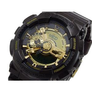 カシオ CASIO 期間限定特別価格 Gショック ガリッシュゴールドシリーズ 安い 激安 プチプラ 高品質 腕時計 メンズ GA-110BR-5A アナデジ