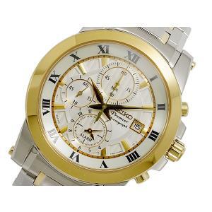 セイコー SEIKO Premier クロノグラフ メンズ 腕時計 SNAF32P1