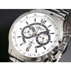 ZANOBETTI ザノベッティ クロノグラフ 腕時計 Z101SSSI|rcmdse