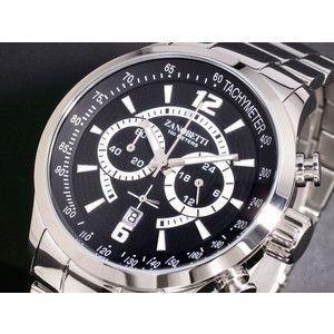ZANOBETTI ザノベッティ クロノグラフ 腕時計 Z101SSBK|rcmdse