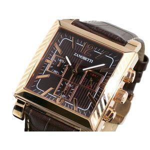 ZANOBETTI ザノベッティ クロノグラフ 腕時計 Z401PBRBR|rcmdse