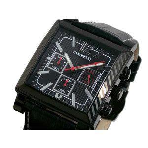 ZANOBETTI ザノベッティ クロノグラフ 腕時計 Z401BBKBK|rcmdse