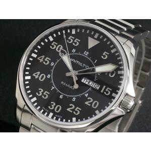 ハミルトン HAMILTON 腕時計 カーキ パイロット H64611135|rcmdse