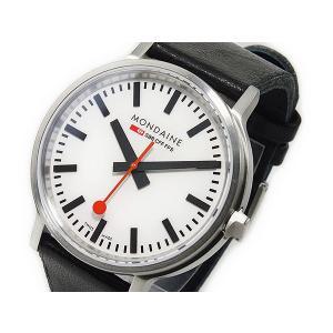 モンディーン MONDAINE クオーツ ユニセックス 国内正規 送料無料でお届けします 腕時計 A512.30358.16SBB 正規認証品!新規格