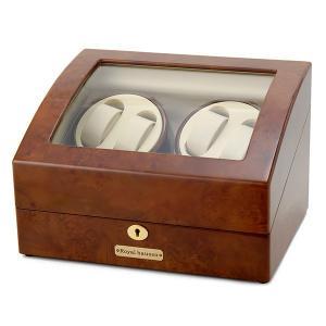 ロイヤル ハウゼン ワインダー ワインディングマシーン 4本巻き 5本収納 GC03-D31 ポイント10倍