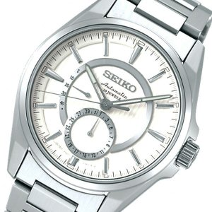 NEW セイコー SEIKO プレザージュ 自動巻き メンズ ホワイト 出色 SARW007 国内正規 腕時計