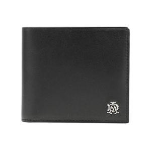 ダンヒル DUNHILL 二つ折り短財布 メンズ L2XR32A ブラック|rcmdse