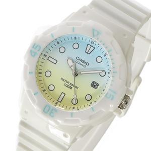 カシオ CASIO ダイバールック レディース 腕時計 LRW-200H-2e2 ブルー/イエロー ポイント10倍