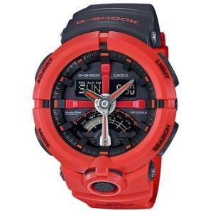 カシオ CASIO Gショック G-SHOCK パンチングパターンシリーズ ブラック ブランド品 メンズ 腕時計 完全送料無料 GA-500P-4A オレンジ