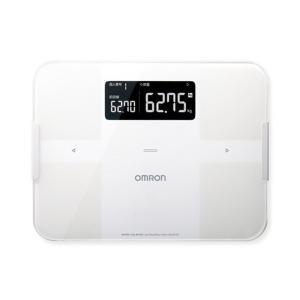超定番 全店販売中 オムロン OMRON 体組成計 体重計 ホワイト カラダスキャン HBF255T-W 4975479414800