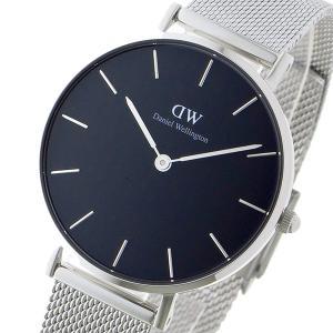 ダニエル 蔵 ウェリントン クラシックペティート 18%OFF スターリング ブラック 腕時計 32mm レディース DW00100162