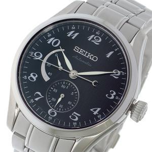 セイコー SEIKO プレサージュ 代引き不可 PRESAGE 自動巻き ブラック SPB043J1 腕時計 ☆正規品新品未使用品 メンズ
