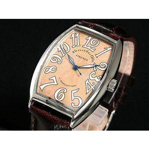 アレッサンドラ オーラ 腕時計 メンズ AO-4550-4|rcmdse