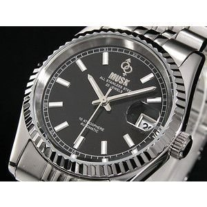 MUSK ムスク 腕時計 自動巻き メンズ MMT-024-05|rcmdse