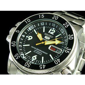 セイコー5 SEIKO ファイブ スポーツ 腕時計 自動巻き メンズ SKZ211K|rcmdse