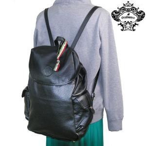 オロビアンコ OROBIANCO リュックサック バックパック バッグ カバン 鞄 おしゃれ AGGUATO L-A 01 NERO レザー|rcmdse