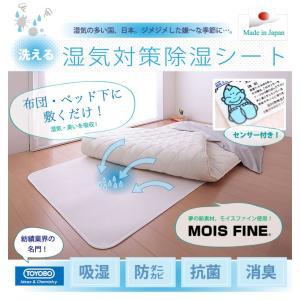 お得なダブルサイズ2枚セット 日本製 東洋紡 TOYOBO さらっとファイン モイスファイン ウオッシャブル 除湿シート ダブルサイズ 130×180cm|rcmdse|02