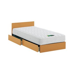 ASLEEP アスリープ ベッドフレーム ダブルロングサイズ チボー FYAH38DC ナチュラル 引出し付き アイシン精機 ベッド 代引不可|rcmdse