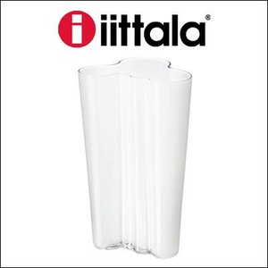 iittala イッタラ Alvar Aalto Collection フラワーベース ホワイト 201mm rcmdse