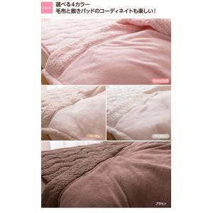 マイクロファイバー毛布 布団 マイクロファイバーぬくぬく2枚合わせ毛布 シングル (シープタッチ・マイクロファイバー毛布ボリュームタイプ・抗菌綿使用)|rcmdse|05