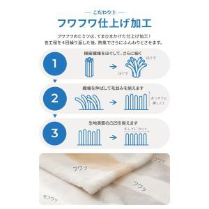 mofua プレミマムマイクロファイバー着る毛布 フード付 (ルームウェア) rcmdse 12