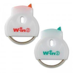 テープカッター ウィン-2 日本製 限定タイムセール アソート グリーン 出色 代引き不可 オレンジ 100点