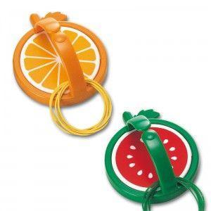 輪ゴムハンガー ゴムリン(日本製) ゴムリン(アソート)・オレンジ柄/160点・スイカ柄/160点入り(代引き不可) ポイント10倍