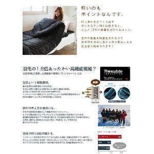 寝具 ふとん 布団 国産 Newシンサレート(Thinsulate) 掛け布団 シングルサイズ|rcmdse|02