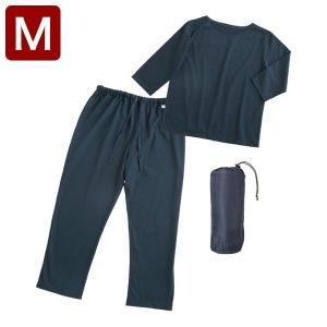 眠+ ミンプラス メンズ トラベルパジャマ Mサイズ パジャマ 旅行用 パジャマ お泊り 出張 ホテル|rcmdse