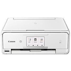 CANON インクジェット複合機 PIXUS TS8030 WHITE 1369C021 プリンタ複合機 ポイント10倍