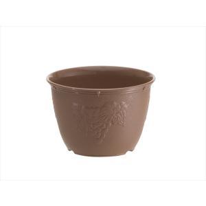 植木鉢 ビオラデコ 6号 チョコブラウン プラスチック製 プ...