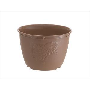 植木鉢 ビオラデコ 7号 チョコブラウン プラスチック製 プ...