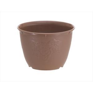 植木鉢 ビオラデコ 8号 チョコブラウン プラスチック製 プ...