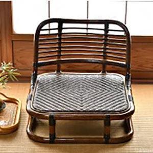 座椅子 アジアン家具 アジアンテイスト 家具 和室 使用可能 座椅子 代引不可|rcmdse