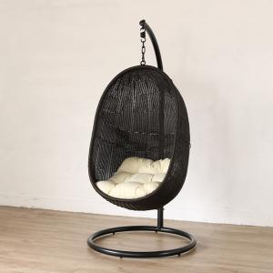ハンギングチェア スモール 生地:W(ホワイト) ハンモックチェア ソファー 椅子 イス パーソナルチェア 一人掛け 撥水 クッション 代引不可|rcmdse