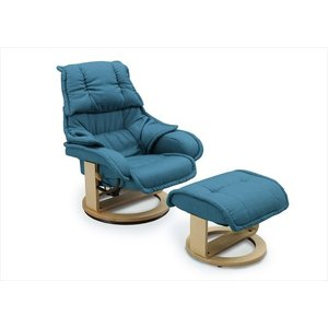 リクライナー ムラーノ イス 椅子 チェア オットマン リクライニング リクライニングチェア オットマン付き リクライニング チェア 代引不可 rcmdse