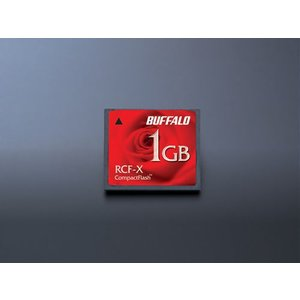 コンパクトフラッシュ 1GB バッファロー RCF-X1GY...