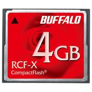 コンパクトフラッシュ 4GB バッファロー RCF-X4G