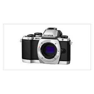 オリンパス 通信販売 lt;OM-Dgt;OLYMPUS ミラーレス一眼カメラ OM-D E-M10 ボディ 1605万画素 SLV 代引不可 海外 シルバー B