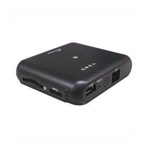 ラトックシステム Wi-Fi SDカードリーダー 5GHz 433Mbpsモデル ブラック REX-WIFISD2-BK 代引不可 ポイント10倍