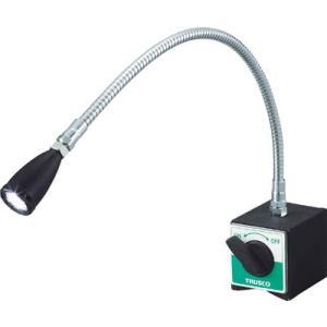 TRUSCO LEDフレキシブルライト 全高491mm TML-400-1 マグネット用品・マグネット電気スタンド|rcmdse