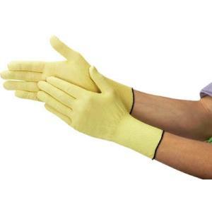 TRUSCO アラミド手袋 15ゲージ 薄手ロングタイプ Lサイズ DPM901-L 作業手袋・耐切創手袋 rcmdse