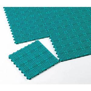 テラモト タッチマットツー 300×300mm 緑 MR-064-176-1 床材用品・スノコ|rcmdse