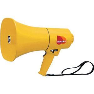 ノボル レイニーメガホン15W 防水仕様 ホイッスル音付き 人気の定番 内祝い 電池別売 拡声器 標識 TS-714 安全用品