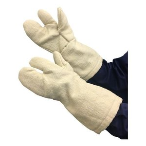 TRUSCO オンラインショッピング 生体溶解性セラミック耐熱手袋 3本指タイプ 初回限定 TCAT3A