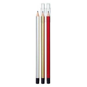 クツワ HiLINE 鉛筆 オレンピツ HB PA002 試験用3本セット